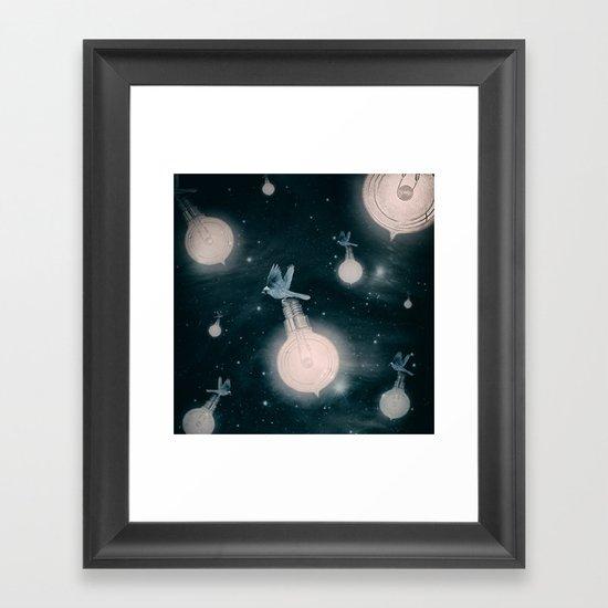 Light the Universe Framed Art Print