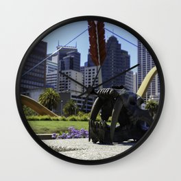 """Cupids Span"" - SF Arrow on Embarcadero Wall Clock"