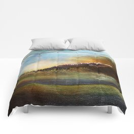 Coming Out of the Okefenokee Swamp ~ Alligator ~ Ginkelmier Inspired Comforters