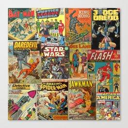 Comics Canvas Print