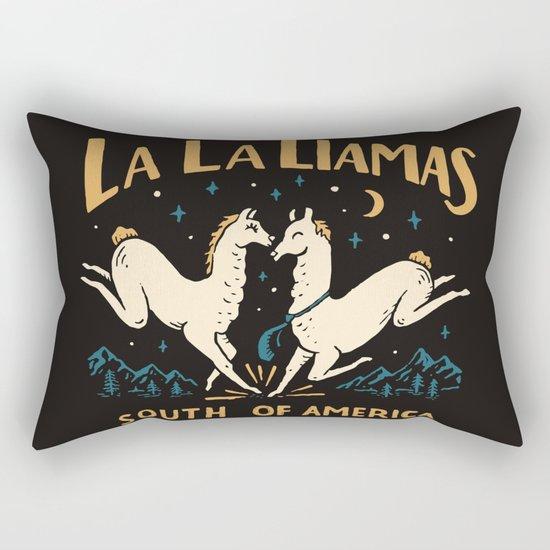 La la llamas Rectangular Pillow