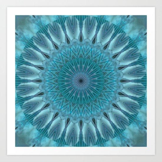 Mandala empathy Art Print