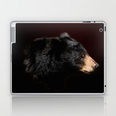 Young Black Bear Portrait Laptop & iPad Skin