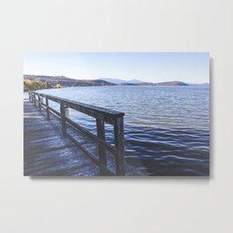 Lookout Dock Metal Print