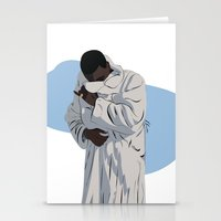gucci Stationery Cards featuring Trap God by Kayla Ferreira