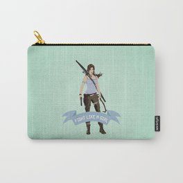 Fight Like a Girl: Lara Croft Carry-All Pouch