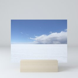 Salt sea Peru Mini Art Print