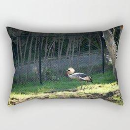 East African Crowned Crane Rectangular Pillow