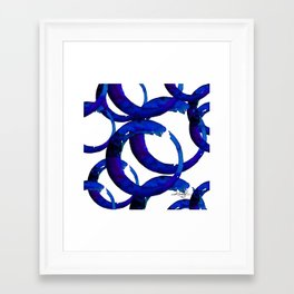 Enso Of Zen No. 21 by Kathy Morton Stanion Framed Art Print