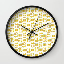 Project 2 (fifteen) Wall Clock