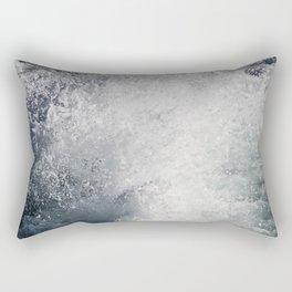 Water Behind A Ship Rectangular Pillow