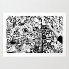 Bitchy Art Print