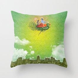 Dravidian Skies Throw Pillow
