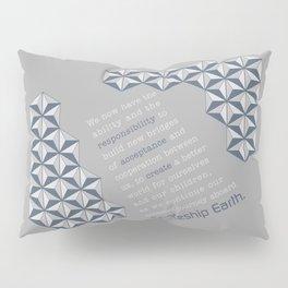 Spaceship Earth Pillow Sham