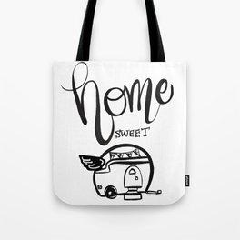 HOME SWEET HOME RV CAMPER Tote Bag