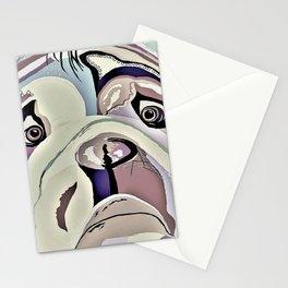 BULLDOG Denim Colors Stationery Cards