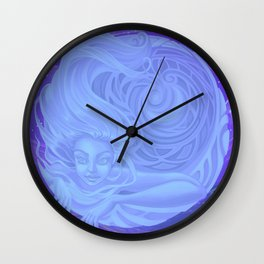 Merge with the Universe Wall Clock