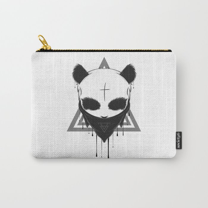 Gangster Panda Carry All Pouch