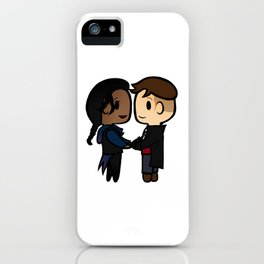 Inej x Kaz - Six of Crows / Crooked Kingdom (B) iPhone Case