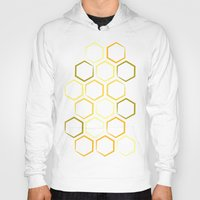 honeycomb Hoodies featuring Honeycomb by Thomas Knapp