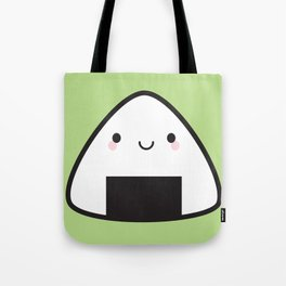Kawaii Onigiri Rice Ball Tote Bag