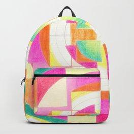 Mandala heart opening Backpack