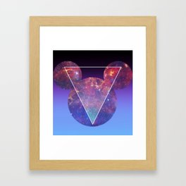 Space Mouse Framed Art Print