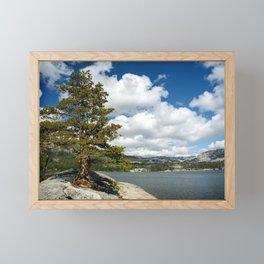 On solid rock I stand Framed Mini Art Print