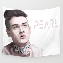 Pear Liaison Wall Tapestry