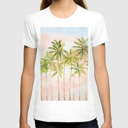 Early Morning On Tropical Island T-shirt