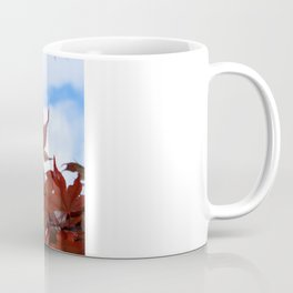 red leaf sky Coffee Mug
