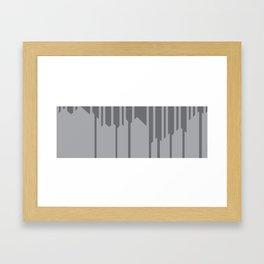 playing shadows Framed Art Print