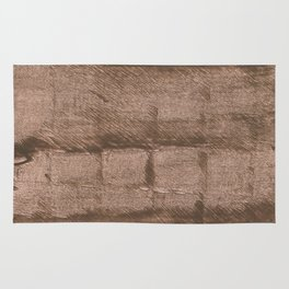 Mud abstract watercolor Rug
