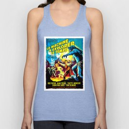 The Time Machine (French) Unisex Tank Top