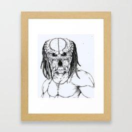 The Pred Framed Art Print