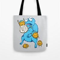 cookies Tote Bags featuring Cookies by MOONGUTS (Kyle Coughlin)