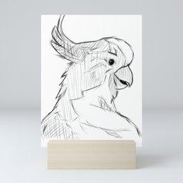Cacatoès  Mini Art Print