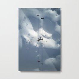 The Chairlift Metal Print