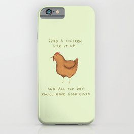 Good Cluck iPhone Case