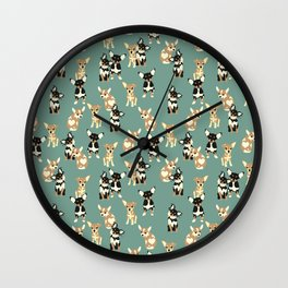 Chihuahuas Wall Clock