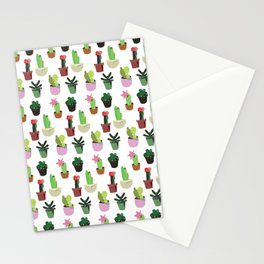 lovely cactus Stationery Cards