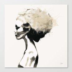 Serene - Digital fashion illustration / painting Canvas Print