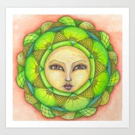 Terra - Earth Art Print
