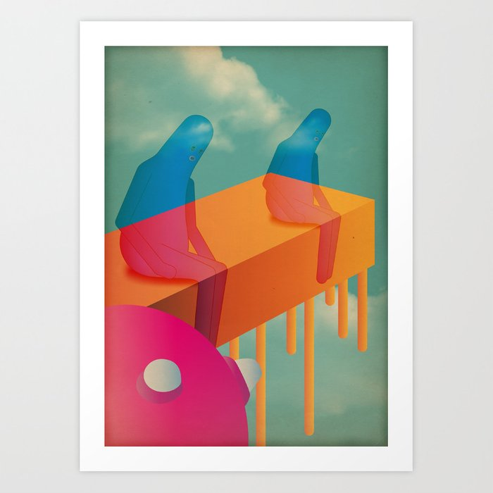l a s s ù Art Print