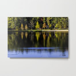 Autumn at R.B. Winter State Park Metal Print