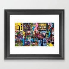 LEMONSQUARES Framed Art Print