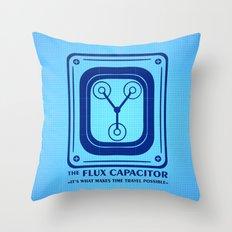 Capacitor Throw Pillow