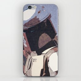 Bobba Fett | The Bounty Hunter | Star War Art iPhone Skin