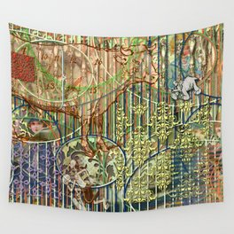 Driving Out Miss Martineau Wall Tapestry