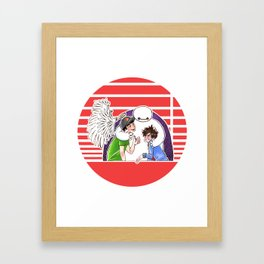 Satisfied With your Care Framed Art Print
